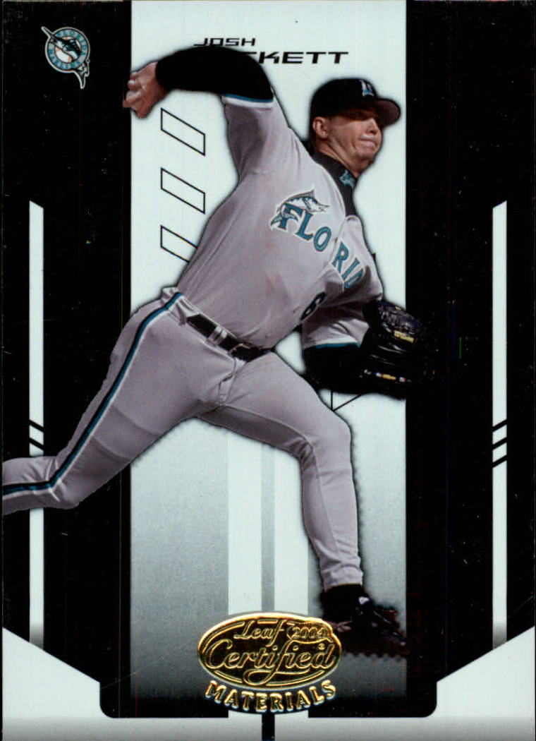 2004 Leaf Certified Materials #110 Josh Beckett
