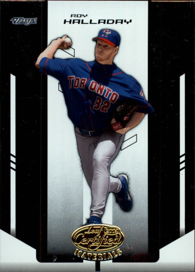 2004 Leaf Certified Materials #165 Roy Halladay