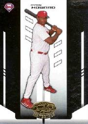 2004 Leaf Certified Materials #167 Ryan Howard