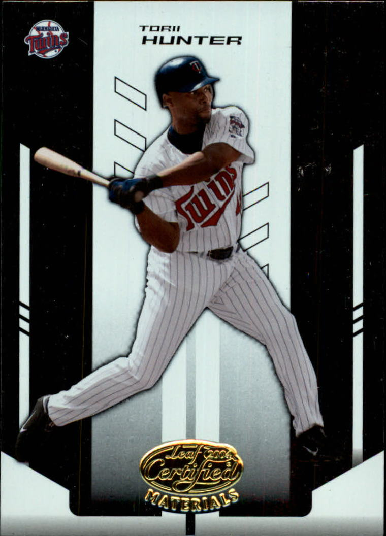 2004 Leaf Certified Materials #183 Torii Hunter