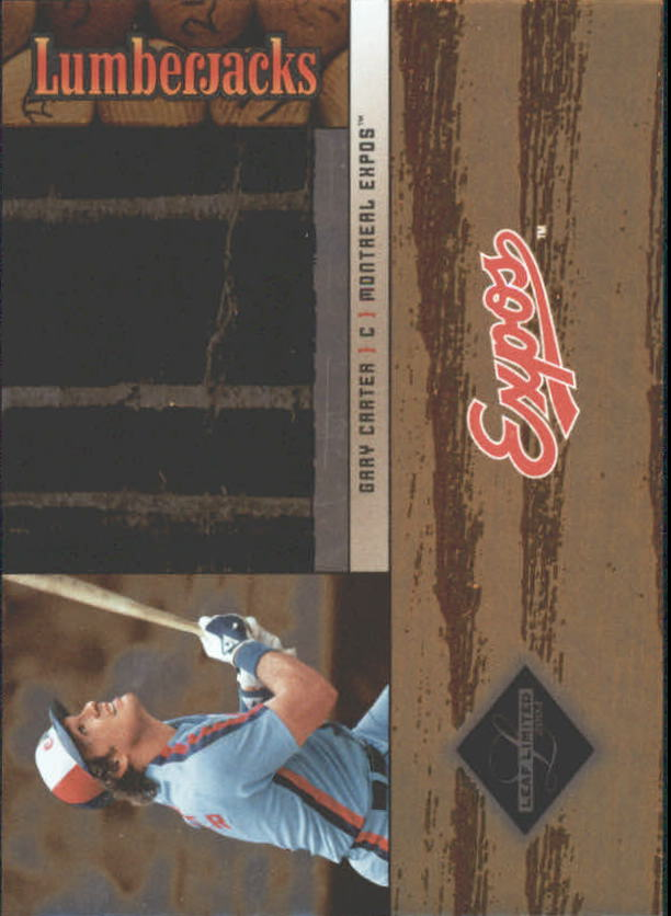 2004 Leaf Limited Lumberjacks #18 Gary Carter/324