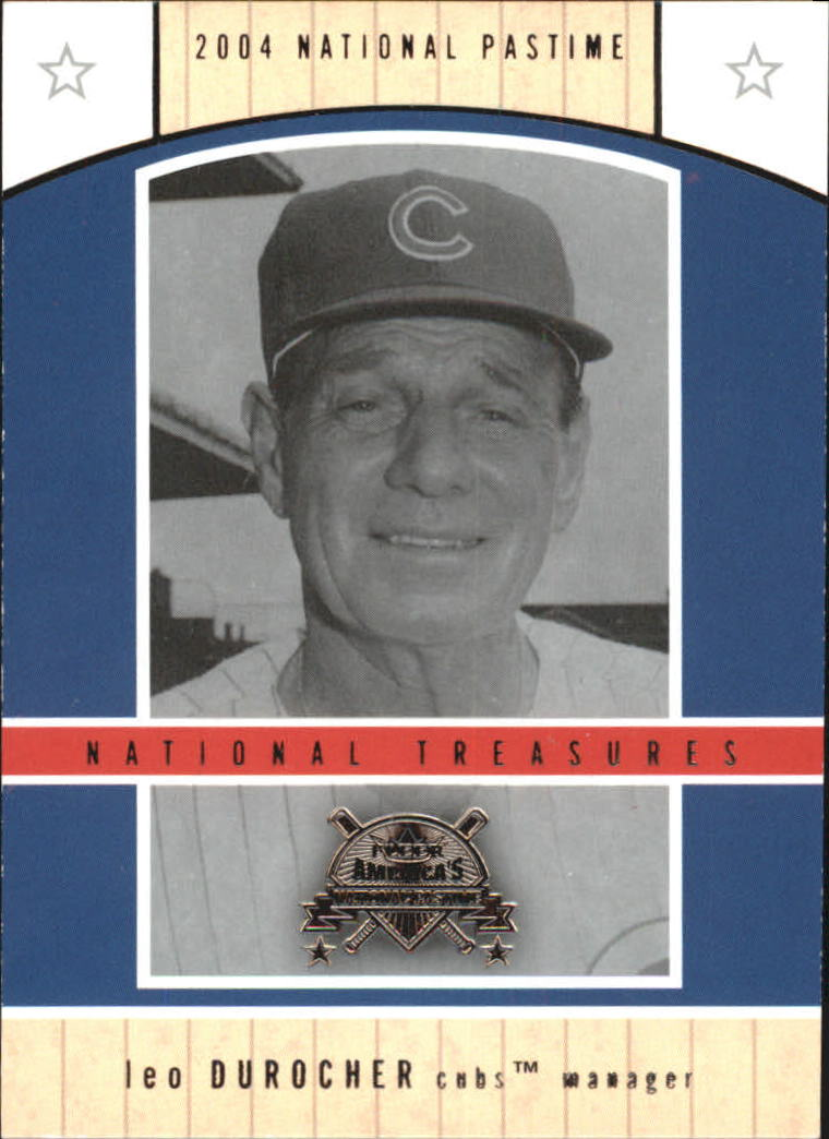 2004 National Pastime National Treasures #5 Leo Durocher