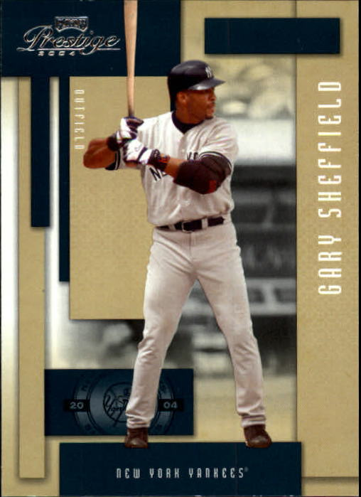 2004 Playoff Prestige #17 Gary Sheffield