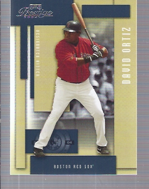 2004 Playoff Prestige #30 David Ortiz