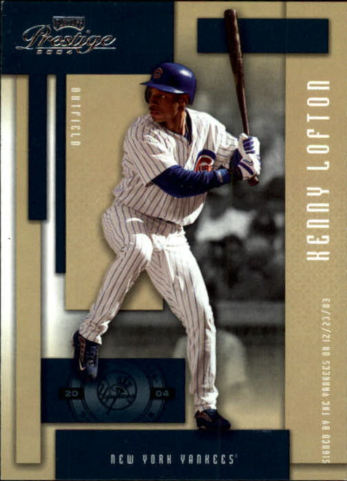 2004 Playoff Prestige #41 Kenny Lofton