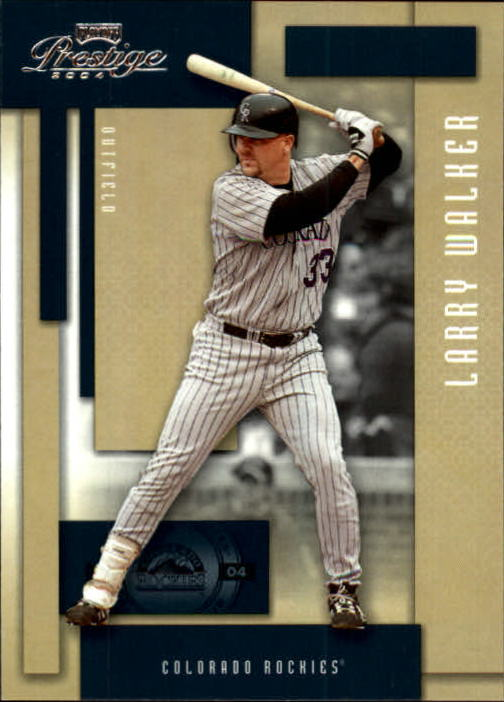 2004 Playoff Prestige #66 Larry Walker
