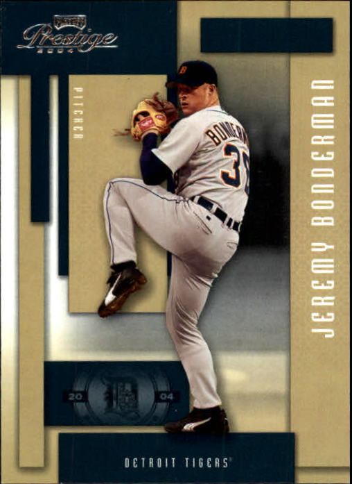 2004 Playoff Prestige #72 Jeremy Bonderman