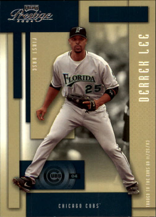 2004 Playoff Prestige #74 Derrek Lee