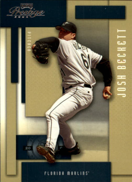 2004 Playoff Prestige #77 Josh Beckett