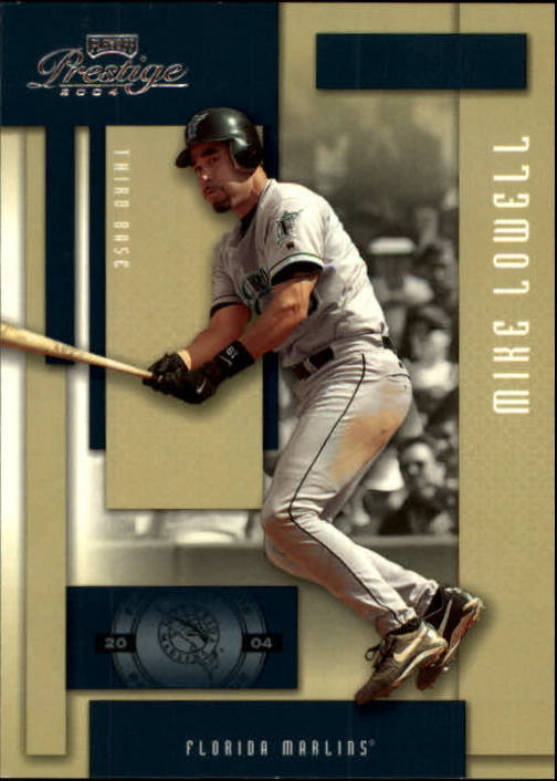 2004 Playoff Prestige #80 Mike Lowell