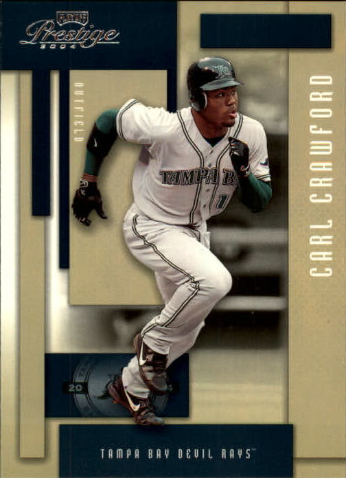 2004 Playoff Prestige #181 Carl Crawford