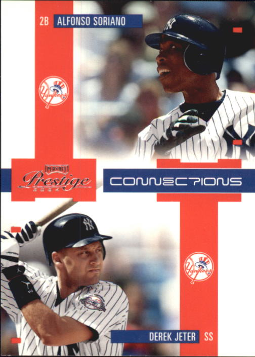2004 Playoff Prestige Connections #1 D.Jeter/A.Soriano