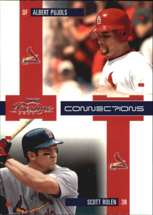 2004 Playoff Prestige Connections #3 A.Pujols/S.Rolen