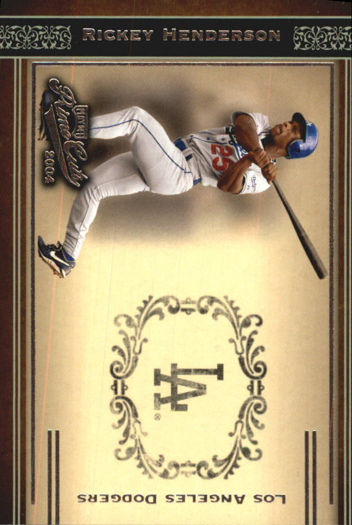 2004 Prime Cuts #13 R.Henderson Dodgers
