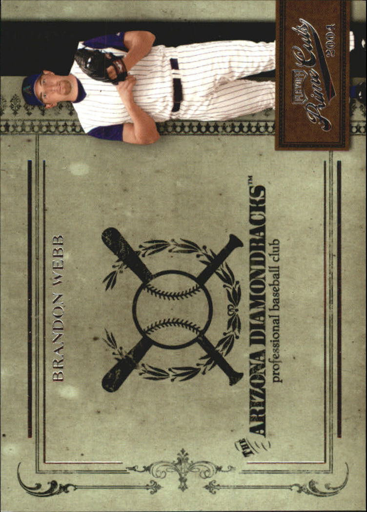 2004 Prime Cuts II #18 Brandon Webb