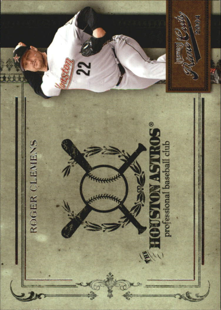 2004 Prime Cuts II #22 Roger Clemens Astros
