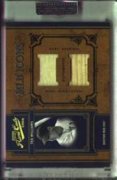 2004 Prime Cuts II MLB Icons Material Combo #15 Ted Williams Bat-Jsy/25