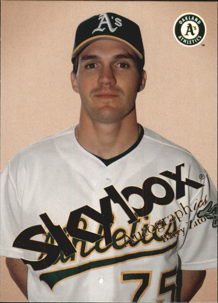 2004 SkyBox Autographics #60 Barry Zito