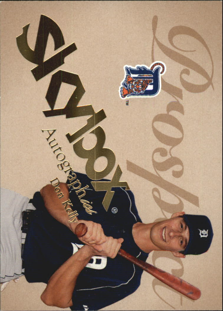 2004 SkyBox Autographics #92 Don Kelly PR RC