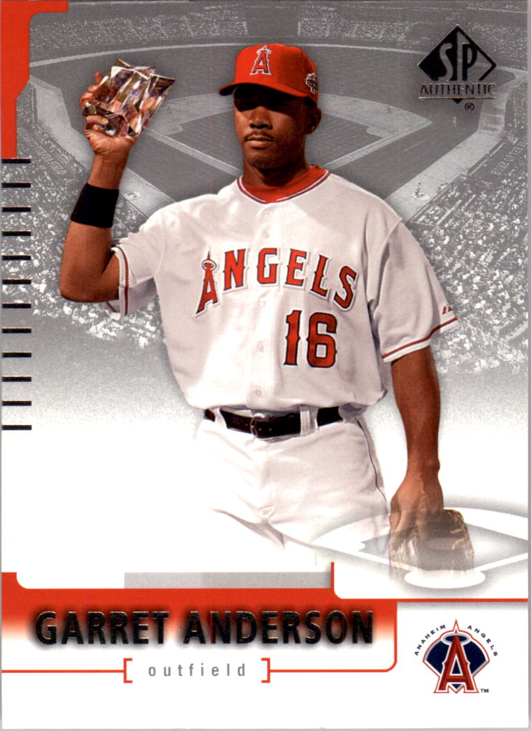 2004 SP Authentic #6 Garret Anderson