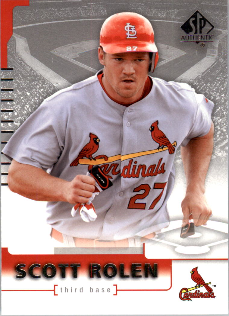 2004 SP Authentic #12 Scott Rolen