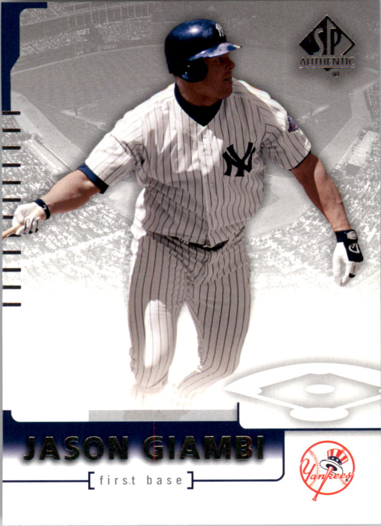 2004 SP Authentic #14 Jason Giambi