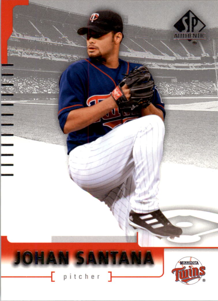 2004 SP Authentic #17 Johan Santana