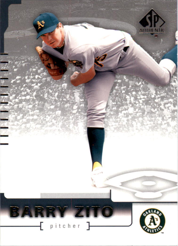 2004 SP Authentic #20 Barry Zito