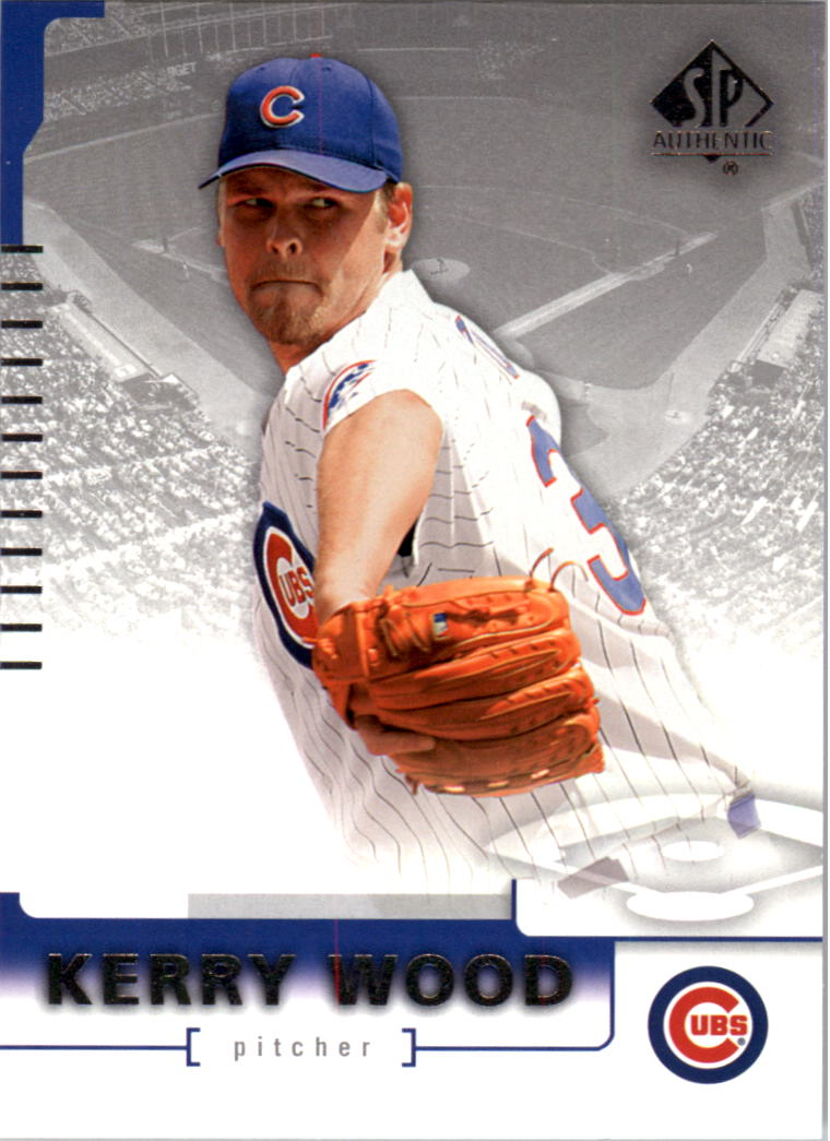 2004 SP Authentic #21 Kerry Wood