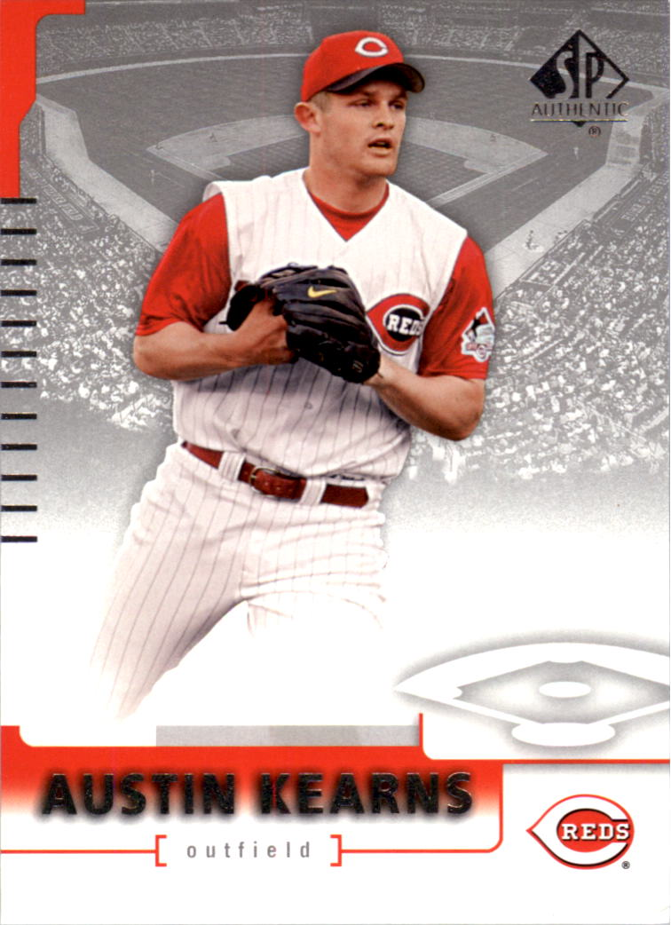 2004 SP Authentic #22 Austin Kearns