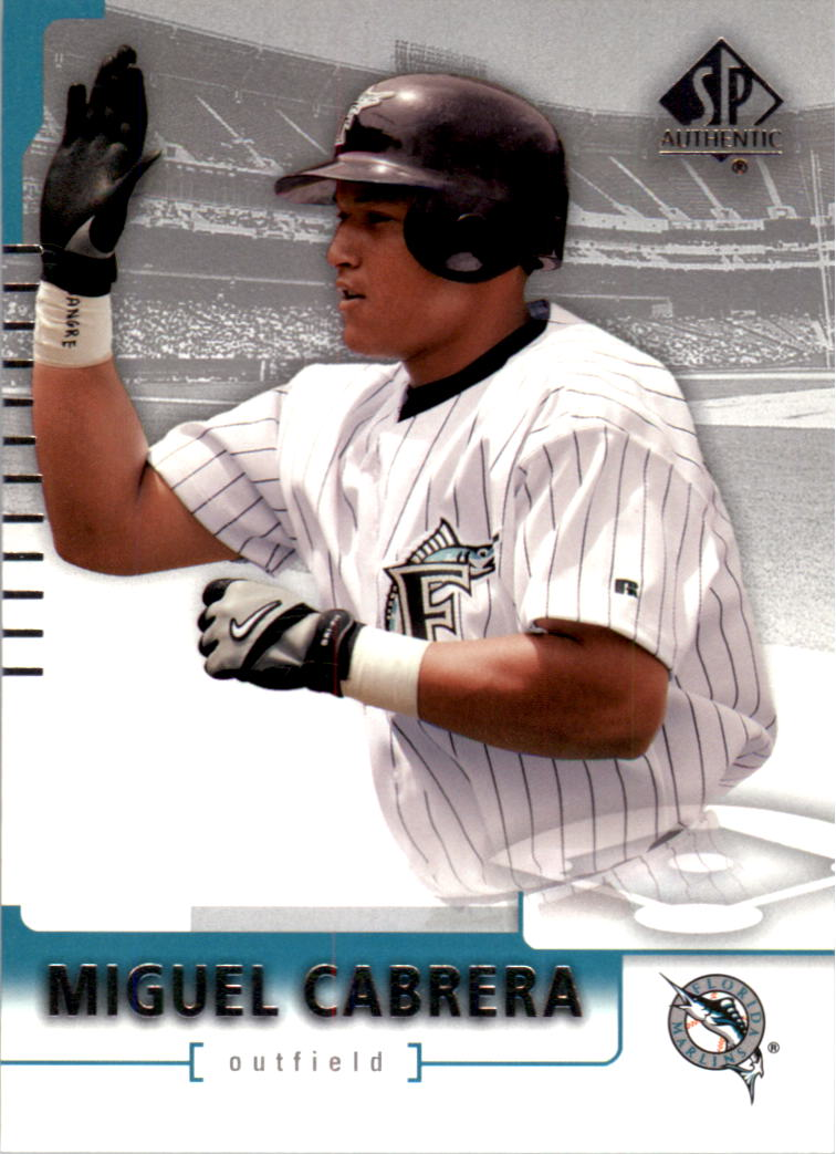 2004 SP Authentic #24 Miguel Cabrera