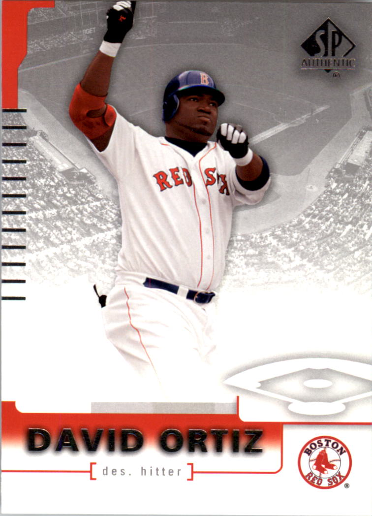 2004 SP Authentic #28 David Ortiz