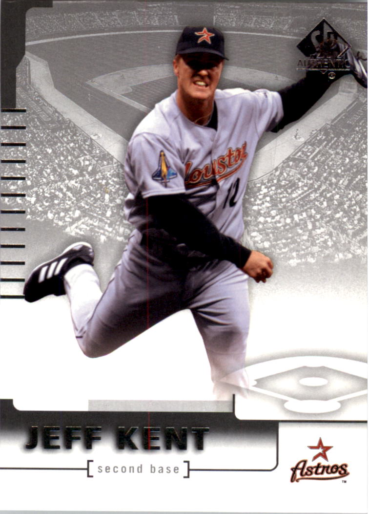 2004 SP Authentic #38 Jeff Kent