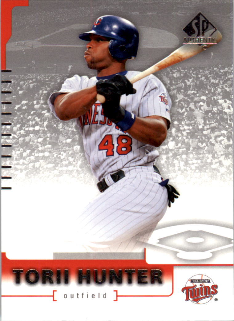 2004 SP Authentic #41 Torii Hunter