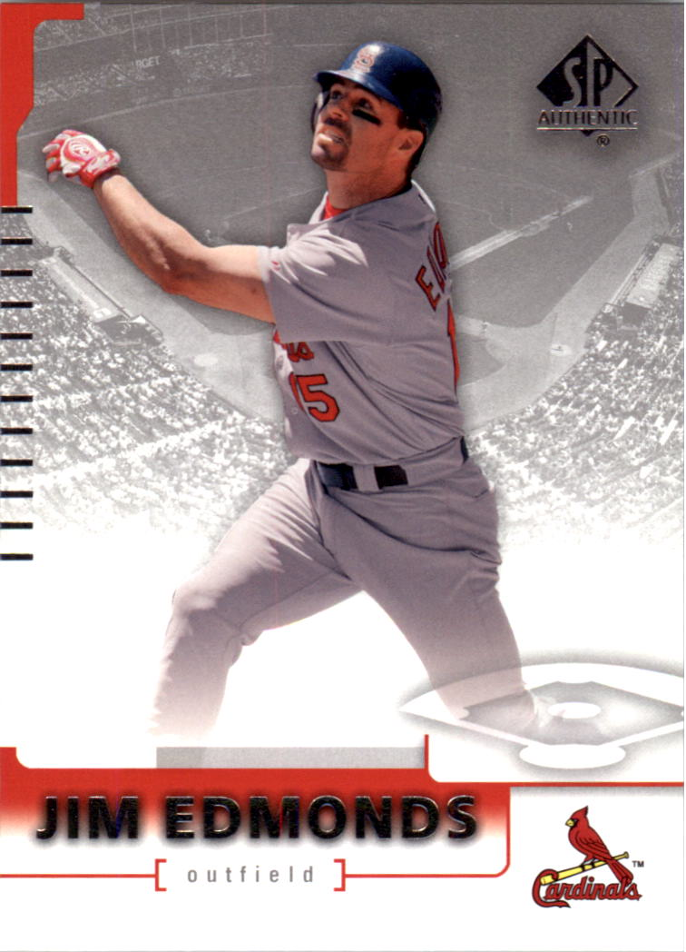 2004 SP Authentic #44 Jim Edmonds