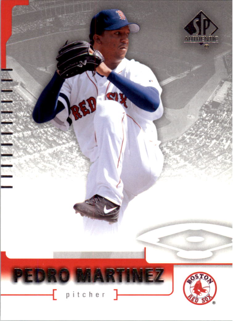 2004 SP Authentic #48 Pedro Martinez