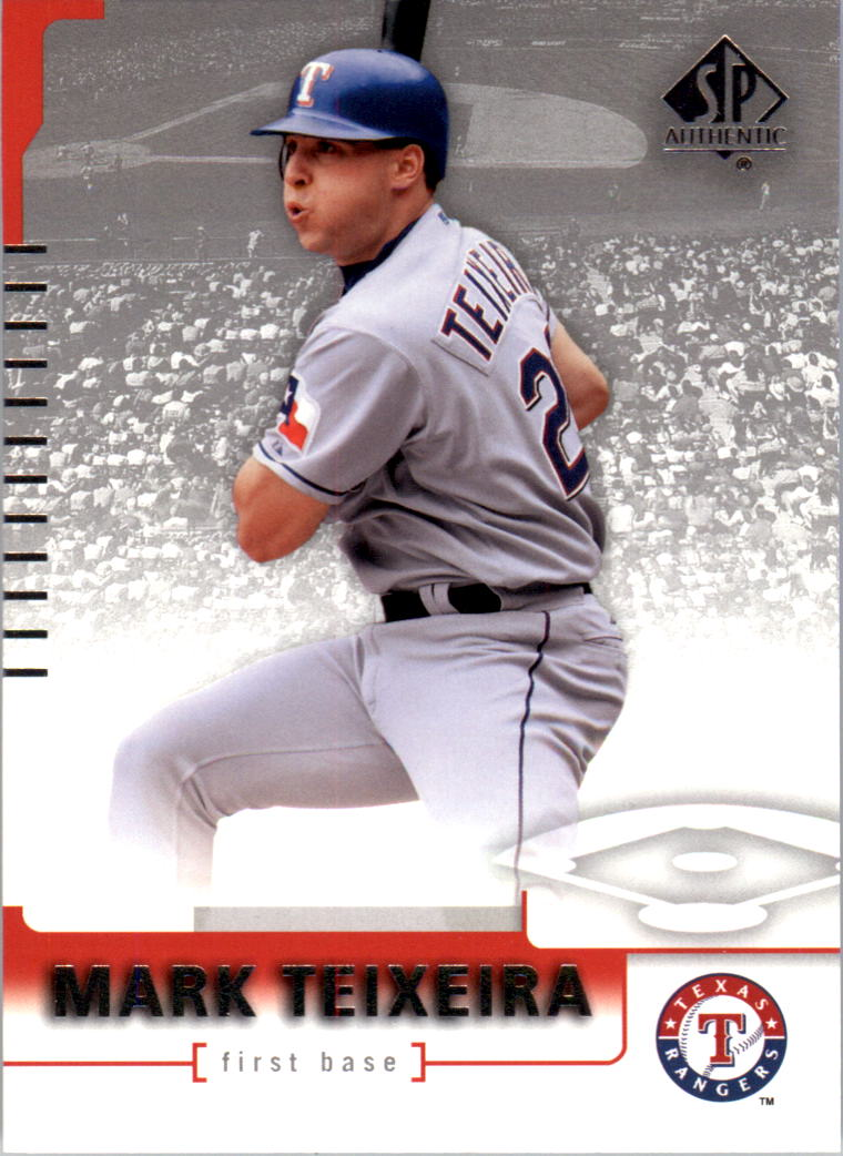 2004 SP Authentic #67 Mark Teixeira