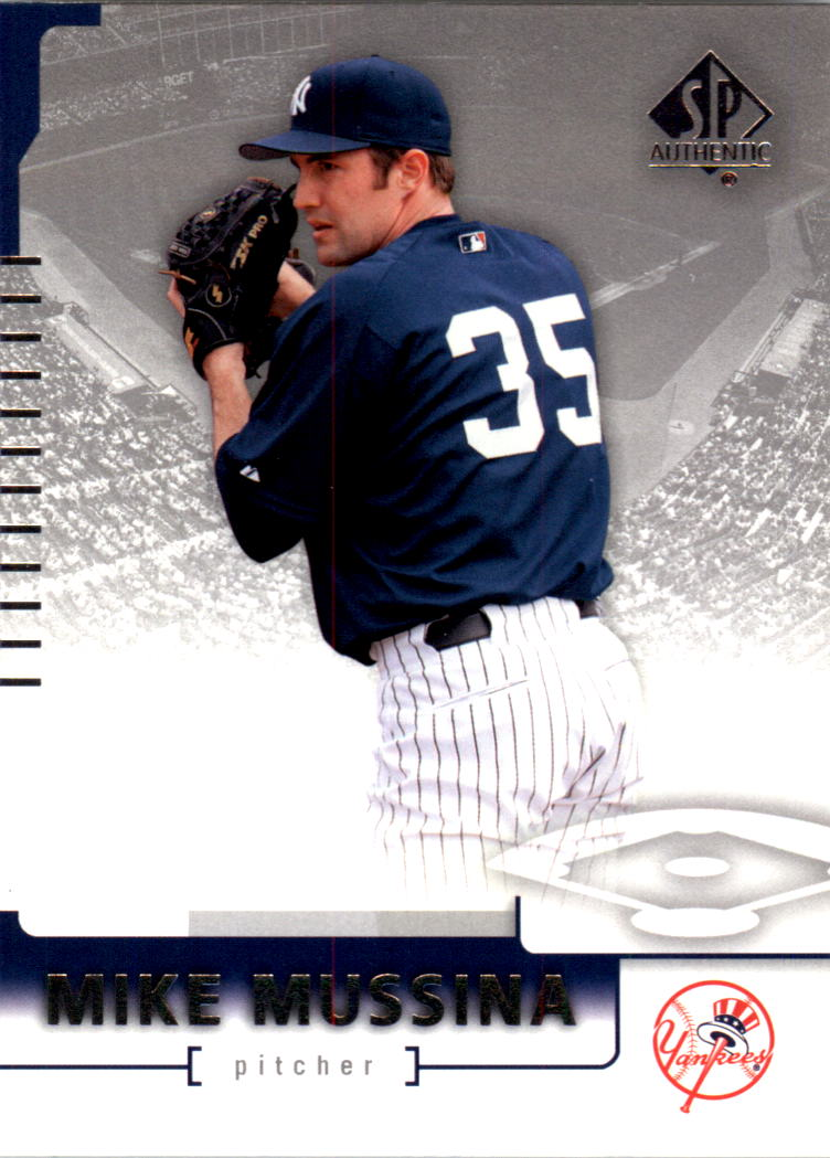 2004 SP Authentic #70 Mike Mussina
