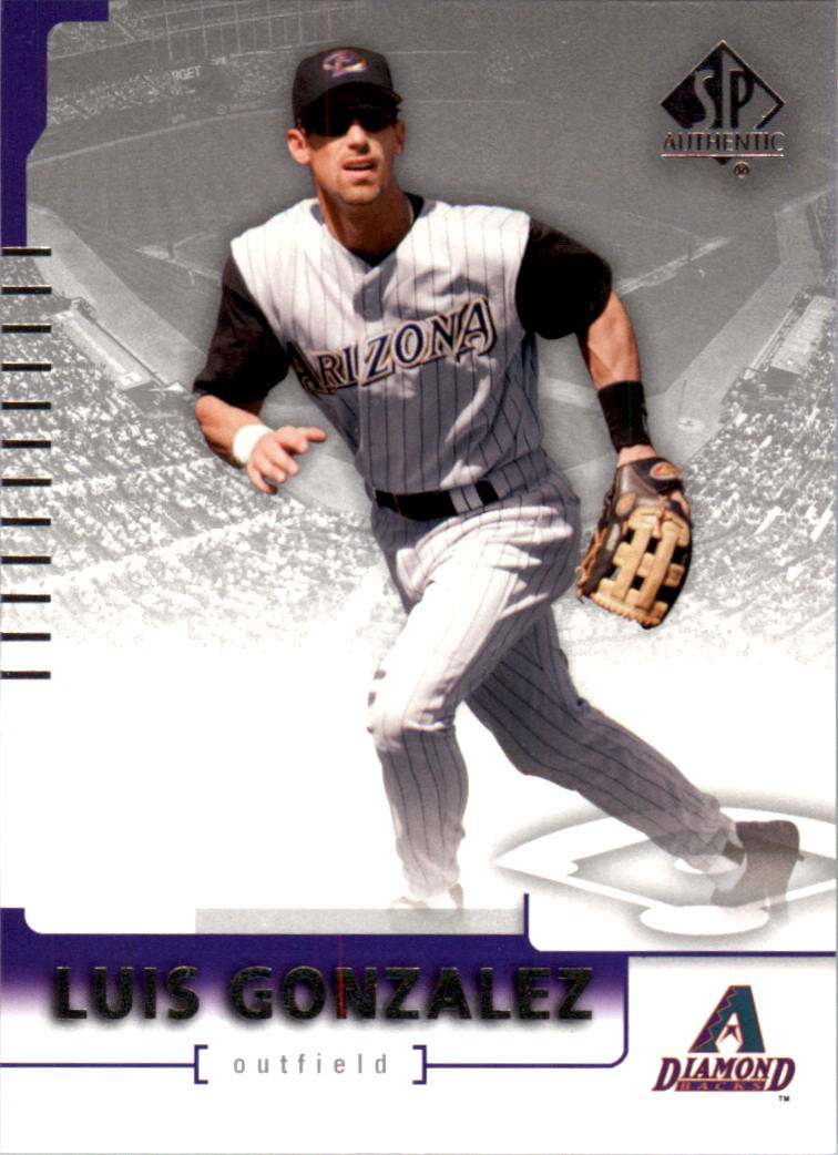 2004 SP Authentic #75 Luis Gonzalez