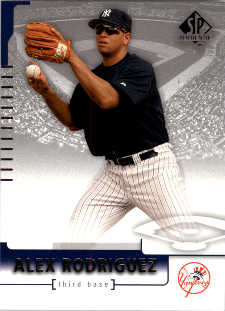 2004 SP Authentic #79 Alex Rodriguez