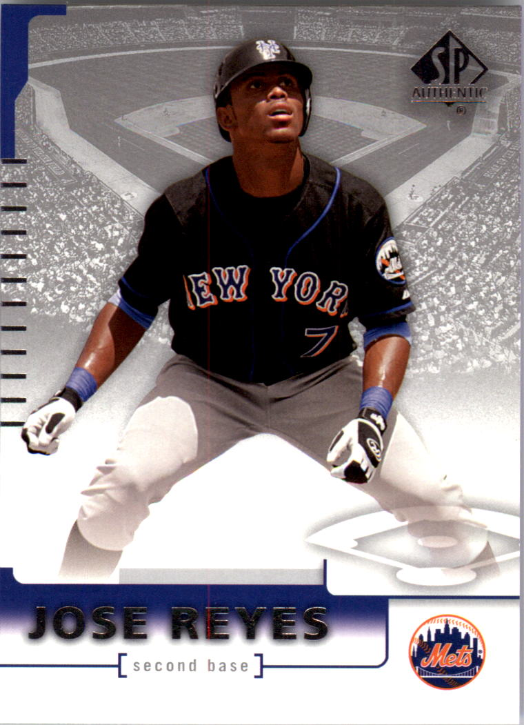 2004 SP Authentic #88 Jose Reyes