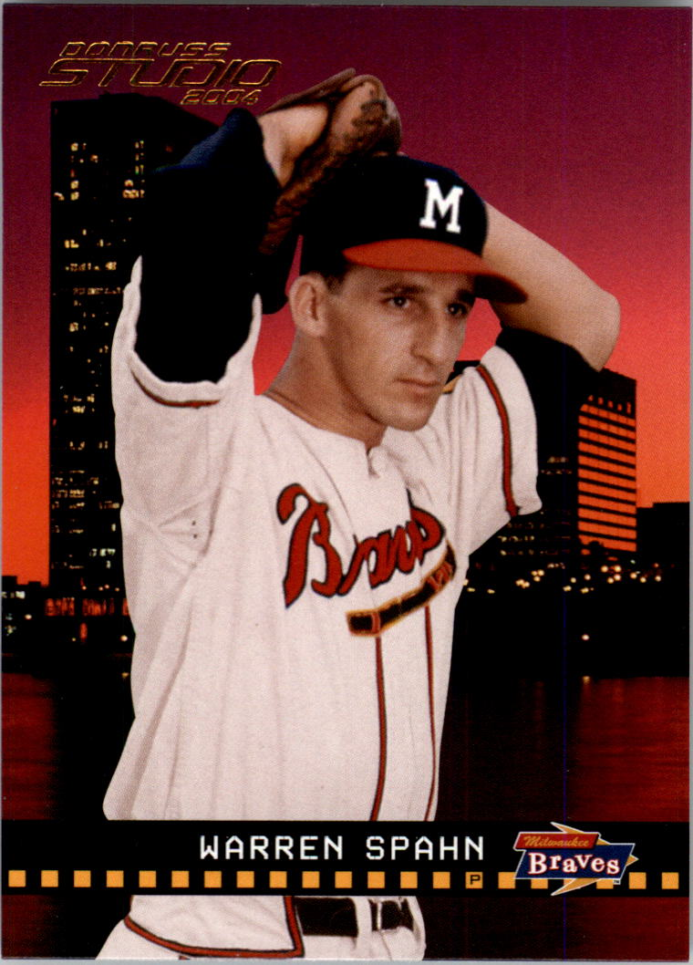 2004 Studio #25 Warren Spahn