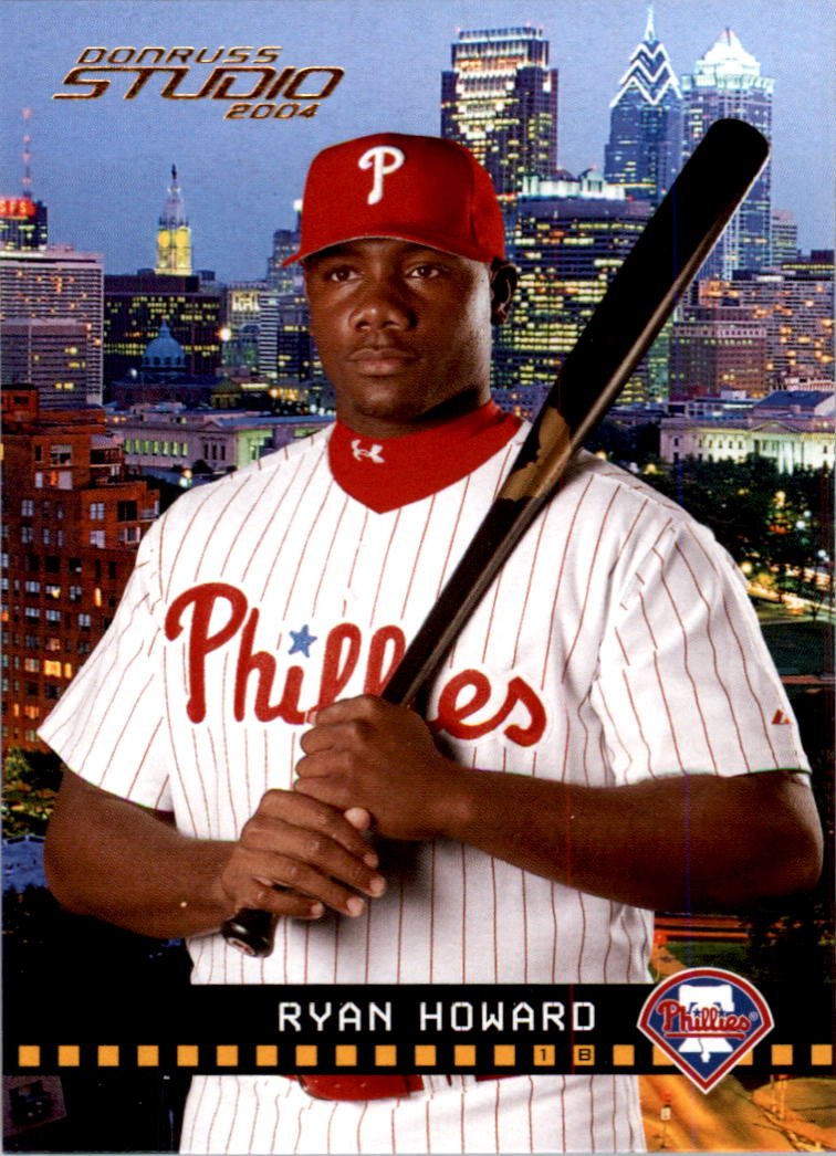 2004 Studio #154 Ryan Howard