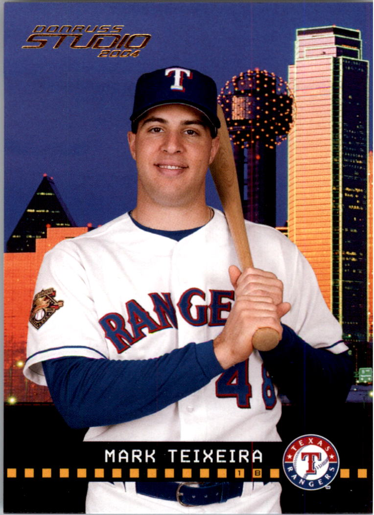 2004 Studio #192 Mark Teixeira