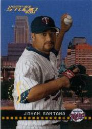 2004 Studio Proofs Gold #116 Johan Santana