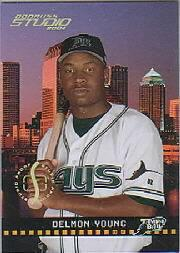 2004 Studio Proofs Gold #187 Delmon Young