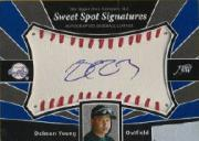 2004 Sweet Spot Signatures #DY Delmon Young T4