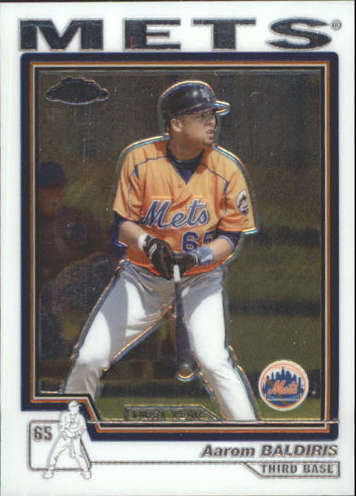 2004 Topps Chrome Traded #T117 Aarom Baldiris FY RC