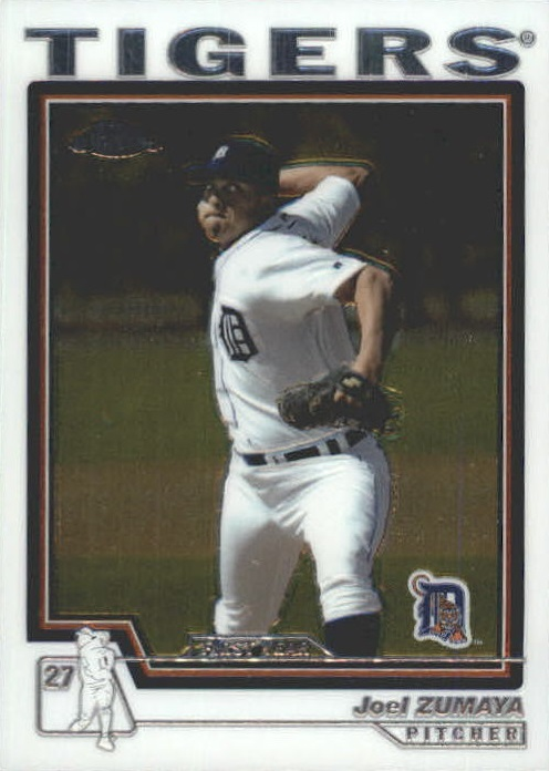 2004 Topps Chrome Traded #T200 Joel Zumaya FY RC