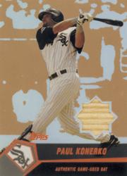 2004 Topps Clubhouse Copper Relics #PK Paul Konerko Bat